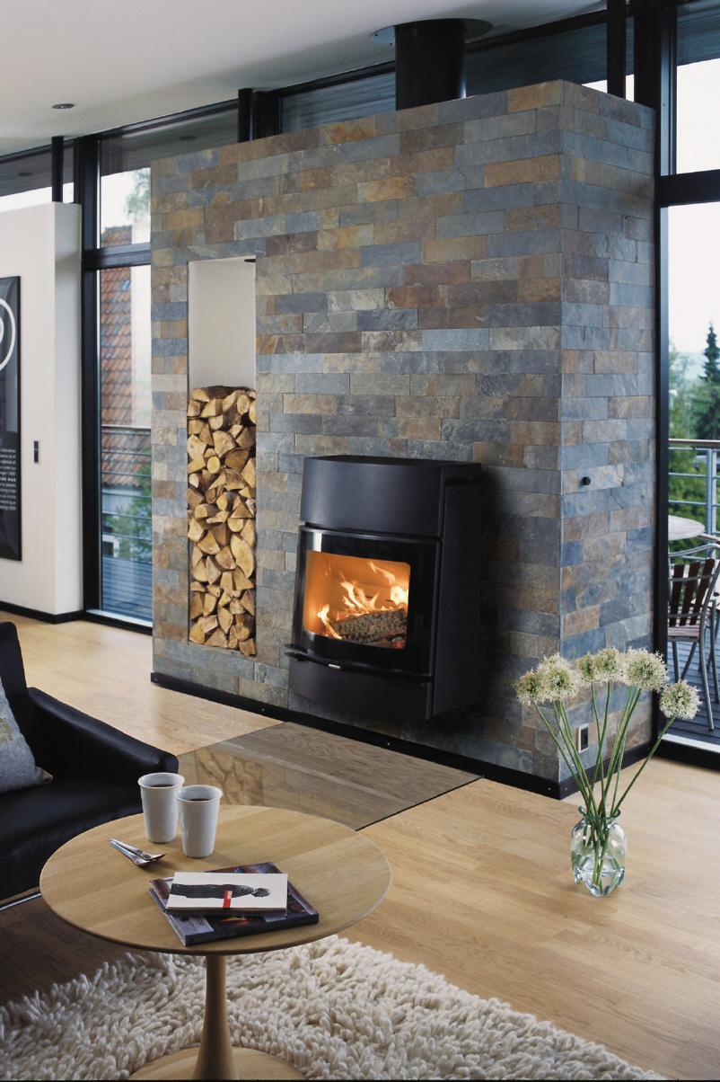 Moderne Kaminöfen sparen Energie